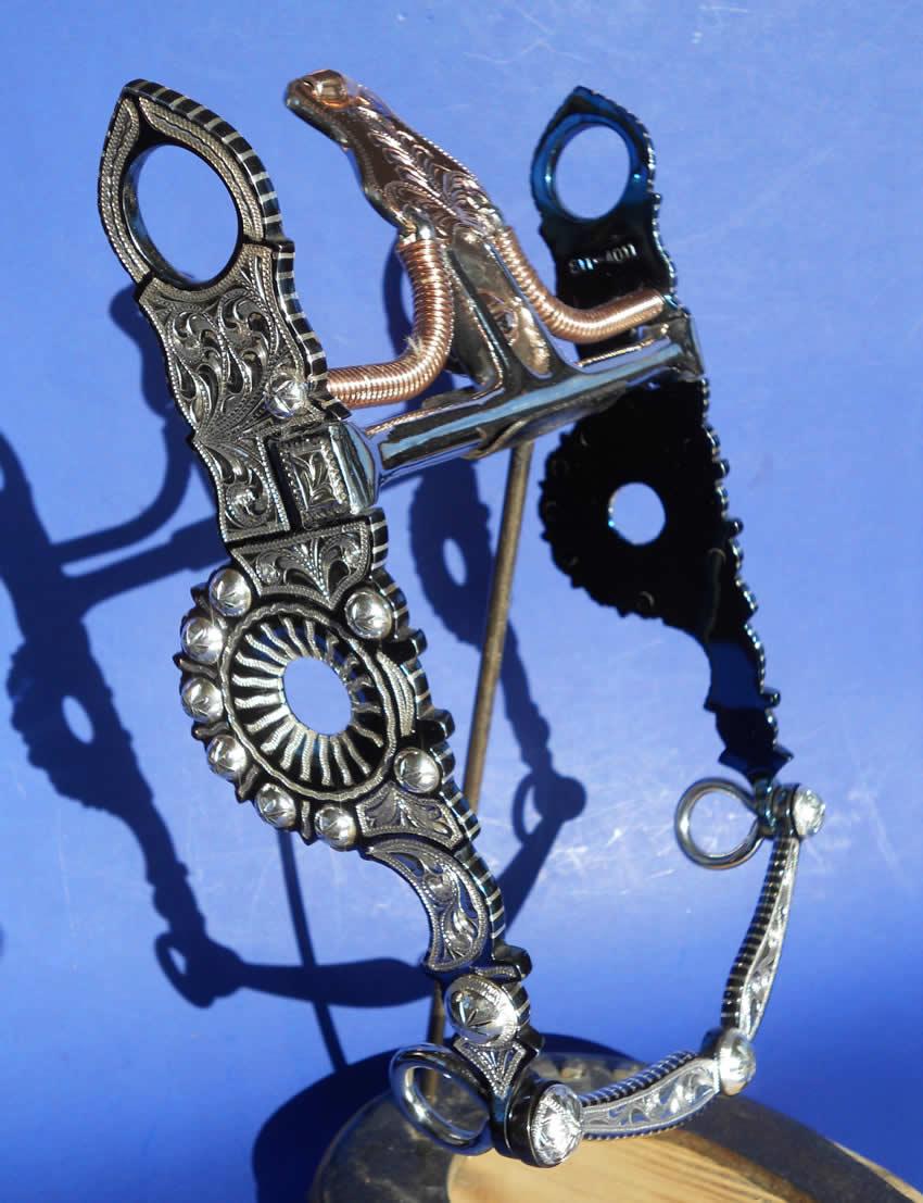 Bits and Spurs - MK Custom Idaho Cowboy Gear and Handwovens